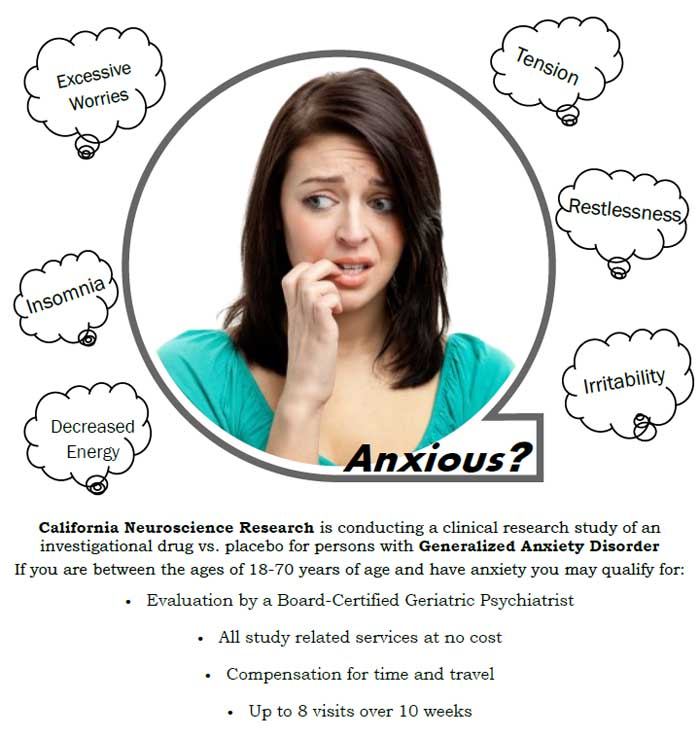 generalized anxiety disorder case study