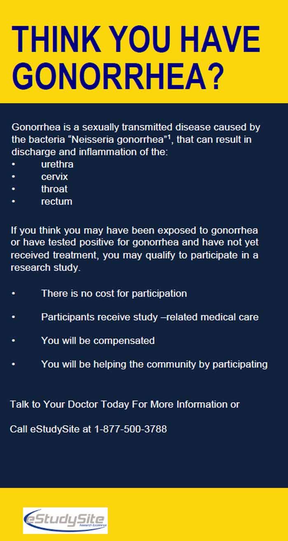 gonorrhea san diego ca clinical trial 24668