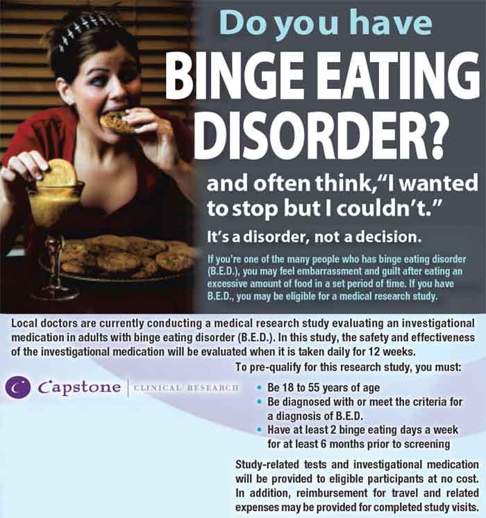 binge eating disorder Take our binge eating test to help identify binge eating habits 13 question binge eating quiz, binge eating test you can share w/ doctor, therapist.